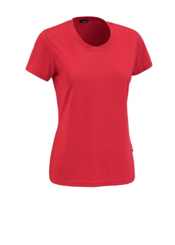 Maier Sports Lilli Polo Manches Courtes Femmes 3XL Rouge - Rouge