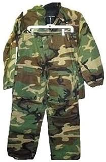 Military Surplus U.S. G.I. Chemical Suit, WoODland, Medium, MJ140M
