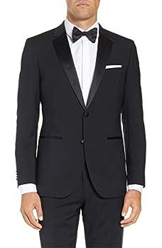 Adam Baker Men s BL501 Classic Fit Tuxedo Suit - Black - 50S