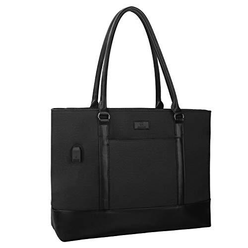 Woman Laptop Tote Bag,USB Teacher Bag Large...
