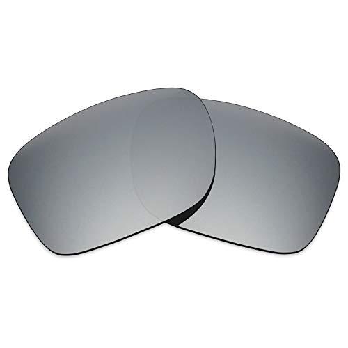 Lentes de repuesto MRY polarizadas para gafas de sol Oakley Holbrook LX Multicolor Silver Titanium