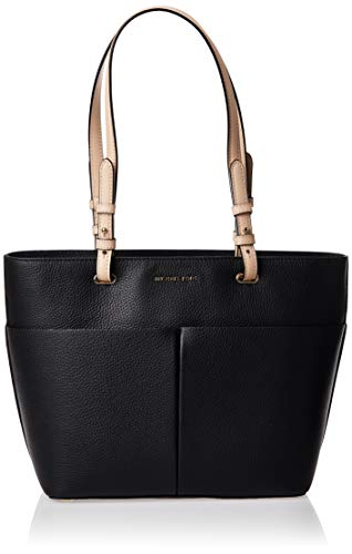 MICHAEL Michael Kors Bedford Medium Top Zip Pocket Tote Black One Size