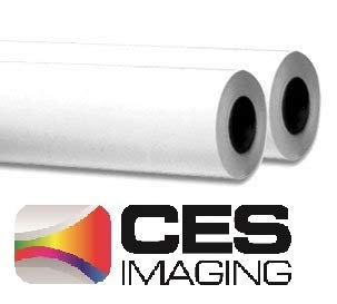 2 Rolls 24 X 500 (24 Inch X 500 Foot) 20lb Bond Plotter Paper 3-in Core. Product by CES Imaging for Use in KIP, OCE, HP, Canon, Xerox, and Ricoh Wide-format Copiers and Printers