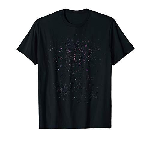 Milchstraße Astronaut - Sonnensystem Weltraum T-Shirt