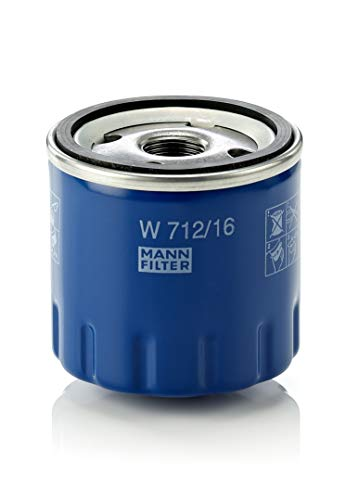 Original MANN-FILTER Ölfilter W 712/16 – Für PKW