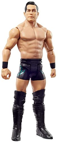 WWE Figura de acción Jake Atlas, muñeco articulado de juguete para niños +6 años...