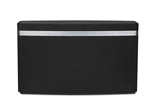 Medion P61076 MD 43061 W-LAN Multiroom Lautsprecher (2x18W, Spotify Connect, WLAN, Ethernet, AUX, optisch, Cinch, USB, WPS) schwarz