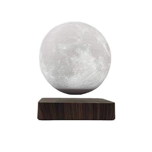 N\C Levitación magnética Luna luz regalo Luna luz de una sola pieza inalámbrica Saturno Night Light