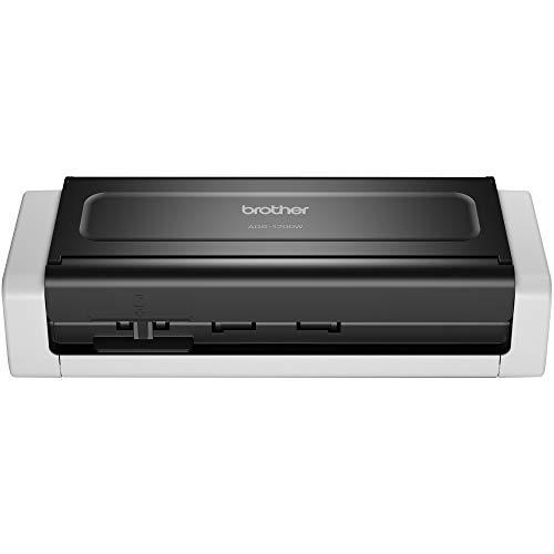 Brother ADS-1700W Document Scanner, Wireless/USB 3.0, Compact, Desktop,...