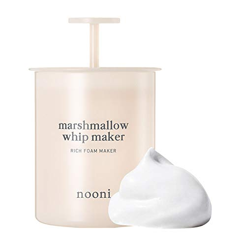 Price comparison product image NOONI Marshmallow Whip Maker Pink / Skin Care Foam Maker to Use With Facial Cleanser / Can Use With Korean Face Wash to Make Foaming Face Wash