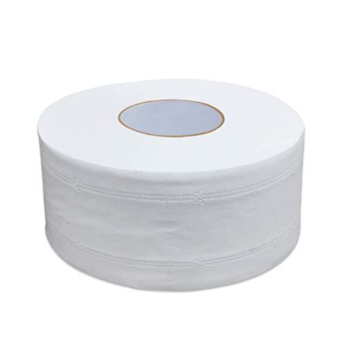 HOTPINK1 Toalla de papel higiénico de 4 capas, tejido en relieve