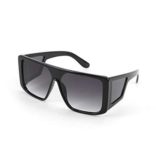 Mens Sunglasses Unique 80's Oversized Flat Top