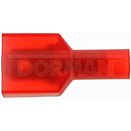 Dorman 86409 Yellow .250 Male 12-10 Gauge Insulated Terminal Disconnect
