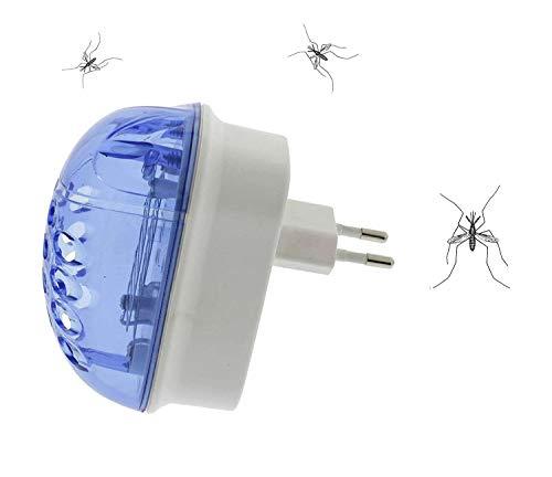 Eurosell Premium Steckdosen Insekten Insektenstecker Abwehr - Profi Insektenvernichter UV-A LED - Mosquito Stopp Stechmücken Lichtfalle UV