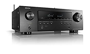 Denon S650H AV Receiver 5.2 Channel  150W X 5  4K UHD Home Theater Surround Sound  2019  | Music Streaming | HEOS Built-in | eARC and Upgraded HDCP