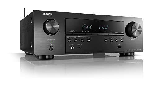 Denon AVR-S650H 5.2 - Receptor AV de Red (4 K, Wi-Fi, Bluetooth, AirPlay HEOS), Color Negro