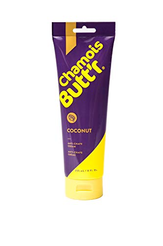 Chamois Butt'r Coconut Anti-Chafe Cream, 8 Ounce Tube