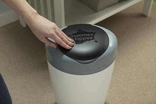 Tommee Tippee Simplee Sangenic Poubelle à couches gris