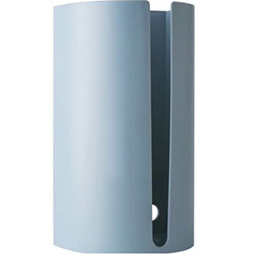 LR xiaorunfa Geen dril keuken tissuedoos afdekking servet houder voor papieren handdoeken box badkamer servetten tissue muur gemonteerd container blauw