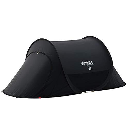 ロゴス(LOGOS) Black UV ポップフルシェルター-AI 71809022