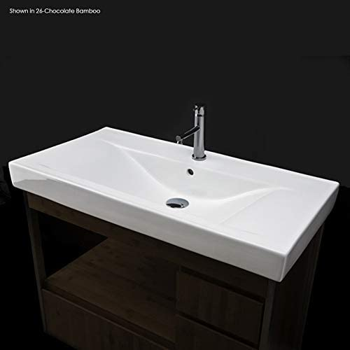 Vanity top porcelain lavatory with back. overflow. A surprise price is realized Superior Unfinished an