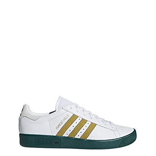 adidas Jungen Forest Hills Fitnessschuhe, Weiß (Ftwbla/Dormet/Veruni 000), 36 2/3 EU