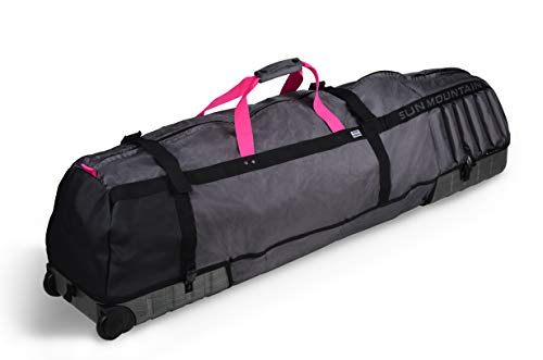 Sun Mountain Unisex Kube Travel Cover - Graphite/Pink - OS