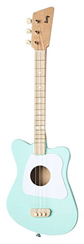 Loog Mini Acoustic Guitar for Children and Beginners, (Green)