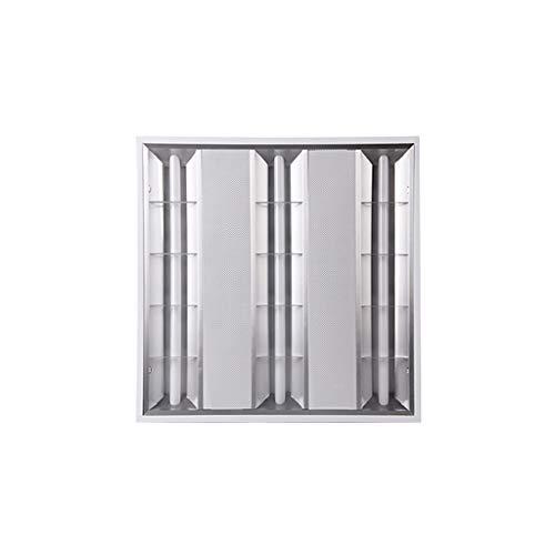 WRMOP LED radiator grill licht inbouwlamp, 600 x 600 rooster platte plafondbekleding lamp huishoudverlichting R/20/03/04
