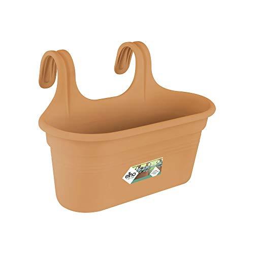 Elho Green Basics Easy Hanger L Fioriera, Marrone, 35 CM
