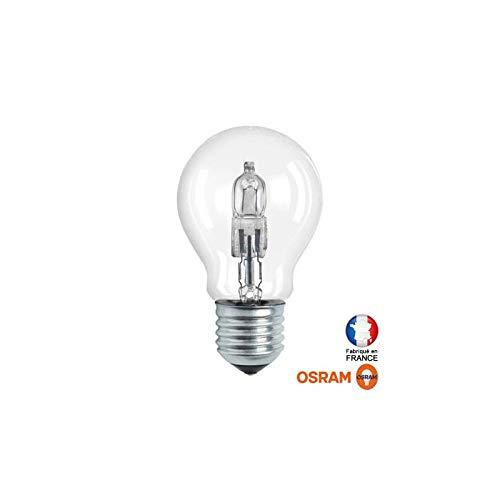 10 Stück Halogen E27 Glühlampe 20 Watt klar 64541 A HALOCLASSIC A - Osram