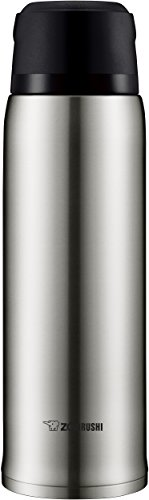 Zojirushi Bottle Stainless Steel Mug, 1 Count (Pack of 1), Silver