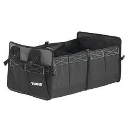 THULE - Organizer - Go Box medium zwart - 36 x 30 x 61 cm (B x H x D) - 2,6 kg - Verdrijf door - Holly ® producten STABIELO ® - holly-sunshade ® - gepatenteerde innovaties op het gebied van mobiele universele zonnebescherming - Made in Germany -