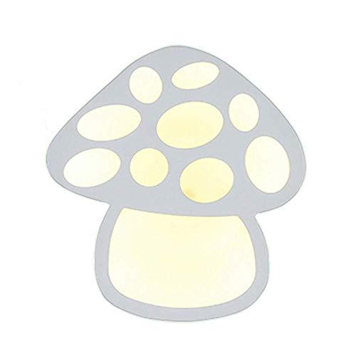 XXLYY Champignon Appliques Murales Intérieur LED Veilleuse Chambre pour Enfants Applique Murale Chambre D'enfants Lumière Décorative dans Panneaux D'éclairage Applique Lumière, pour Chambre d'enfant C
