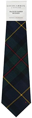 I Luv Ltd Gents Neck Tie MacLeod Of Harris Modern Tartan Lightweight Scottish Clan Tie