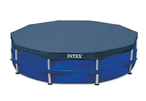 BLOSSOMZ Intex 12' Round Frame Set Easy Swimming Pool Debris Cover | 28031E