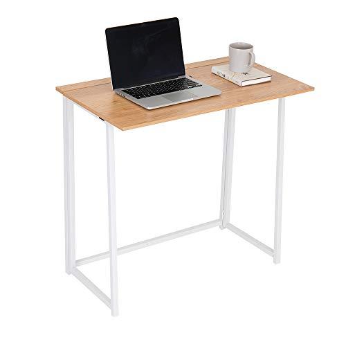 Happy Home - Mesa de oficina plegable, para ordenador (80 x 45 x 75 cm)