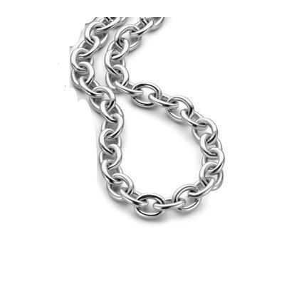 Velini, Damen Halskette SCH104, Edelstahl,silberne Farbe