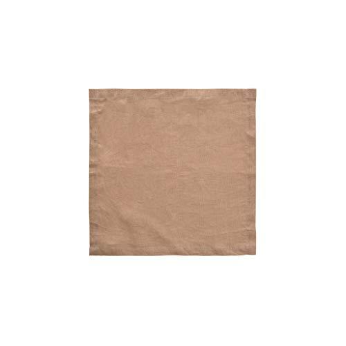Mantel individual GCX de una sola pieza de lino servilleta occidental color...