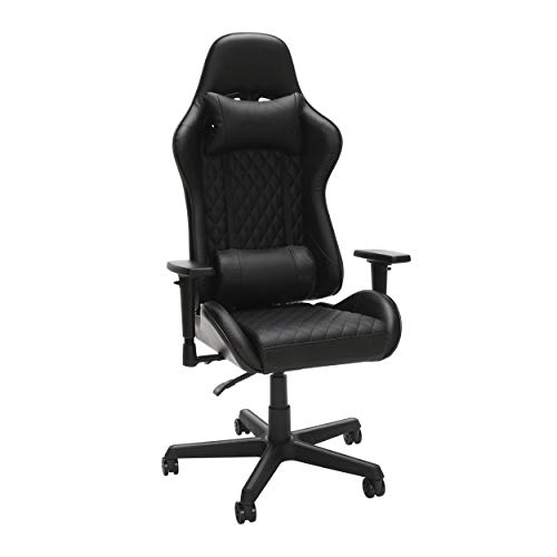RESPAWN 100 Racing Style Gaming Chair, in Black (RSP-100-BLK)