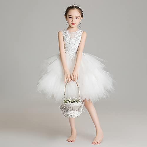 Vestidos de la princesa de las niñas, las faldas de la gasa mullida, los vestidos de la niña de las niñas pequeñas, los vestidos de novia, los disfraces, los vestidos de noche, apto para cumpleaños y