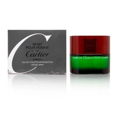 Cartier Must de Cartier homme/man, Essence - Eau de Toilette, Vaporisateur / Spray, 50 ml