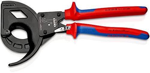 KNIPEX Cortacables (tipo carraca, 3 pasos) (320 mm) 95 32 320