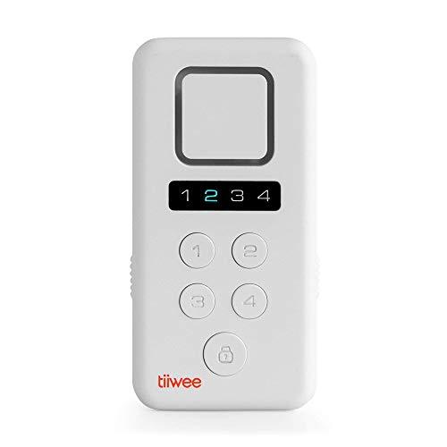 Tiiwee X3 kit Allarme Casa Senza Fili con Sirena da 120 dB, 2 Sensori per Finestre Porta - Protetto con Codice PIN a 4 Cifre - Facile da Installare - Kit Antifurto