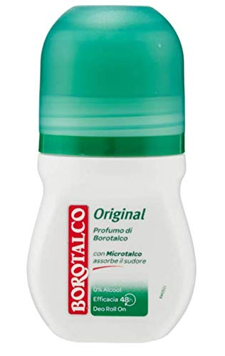 8x BOROTALCO ROBERTS deo roll-on Original 50ml ohne Alkohol deoroller aus itali