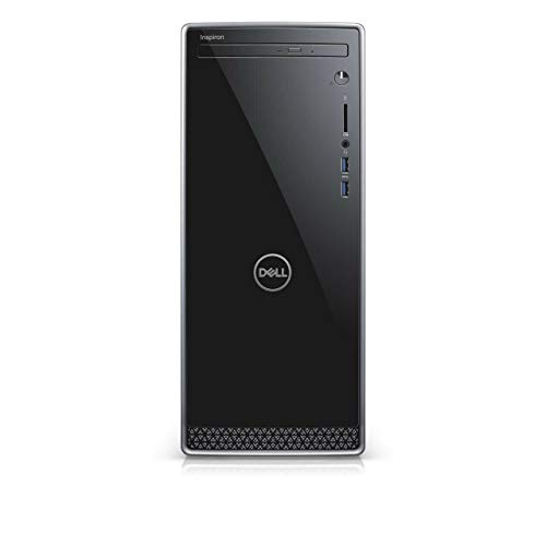 Dell Inspiron 3671 High Performance Desktop Computer, Intel 8-Core i7-9700 up to 4.7GHz, 12GB DDR4, 256GB SSD, 2TB HDD, Optical Drive, Bluetooth, HDMI, MaxxAudio, 5-in-1 Multi-Card Reader, Windows 10