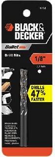BLACK+DECKER 19100 Two Pack Bullet Drill Bit, 1/16-Inch