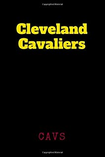 Cleveland Cavaliers - Cavs: Sport Notebook, Journal, Diary (110 Pages, Graph Paper, 6 x 9 size, Soft Glossy Cover), Basketball, Basket, Large Composition Book.