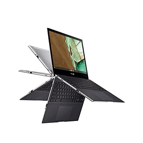 "ASUS Chromebook Flip CM3, 12"" Touchscreen HD NanoEdge Display, MediaTek 8183 Processor, Arm Mali-G72 MP3 GPU, 32GB Storage, 4GB RAM, Wi-Fi 5, Chrome OS, Aluminum, Mineral Gray, CM3200FVA-DS42T"