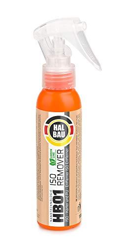 HALBAU - Limpiador de espuma de poliuretano endurecido y endurecedor (ISO PU, 100 ml)